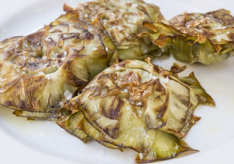 Roast Artichoke Bottoms