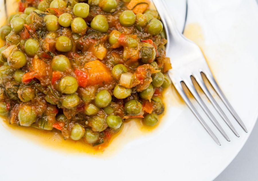 Sauce with Peas